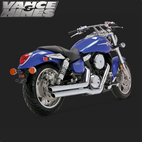 Vance & Hines Big Shot Full Exaust System Suzuki Mean Streak 1600 04-08 1