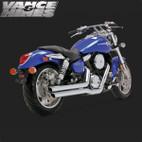Vance & Hines Big Shot Full Exaust System Suzuki Mean Streak 1600 04-08 1