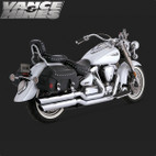 Vance & Hines Big Shot Full Exaust System Yamaha Road Star 1700 99-08 1