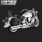 Vance & Hines Big Shot Full Exaust System Yamaha Road Star 1700 99-08 1
