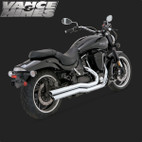 Vance & Hines Big Shot Full Exaust System Yamaha Road Star Warrior 02-09 1