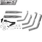 Vance & Hines Classic Bagg Dual Exaust Kawasaki Vulcan 1500 96-08 1