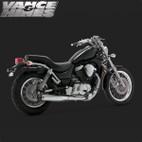 Vance & Hines Classic Bagg Dual Exaust Suzuki Intruder 700/800 87-05 1
