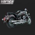 Vance & Hines Classic Bagg Dual Exaust Yamaha V-Star 1100 99-09 1