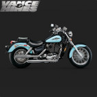 Vance & Hines Classic Bagg Dual Exhaust Honda Shadow Ace 1100 95-99 1