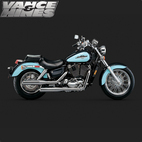 Vance & Hines Classic Bagg Dual Exhaust Honda Shadow Ace 1100 95-99 1