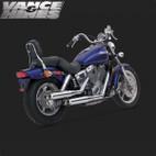 Vance & Hines Classic Bagg Dual Exhaust Honda Shadow Spirit 1100 87-06 1