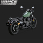 Vance & Hines Competition Series Slip-On Exaust Yamaha Bolt 14-15 1