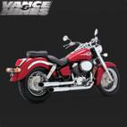 Vance & Hines Cruzer Full Exaust System Honda Shadow Ace 750 98-03 1