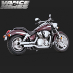 Vance & Hines Cruzer Full Exaust System Honda VTX1300 03-09 1