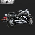 Vance & Hines Cruzer Full Exaust System Suzuki Volusia 800 01-08 1