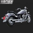 Vance & Hines Cruzer Full Exaust System Yamaha V-Star 650 04-05 1
