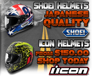 Shoei and Icon Helmets Promo