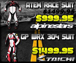 Alpinestars Atem and Scorpion Podium Race Suit Sale