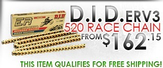 D.I.D. ERV3 Series 520 Exclusive Racing Chain