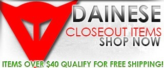 Dainese In-Stock Closeouts