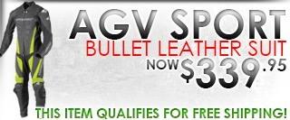 AGV Sport Bullet Leather Race Suit
