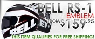 Bell RS-1 Emblem Helmet White
