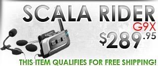 Cardo Systems Scala Rider G9X