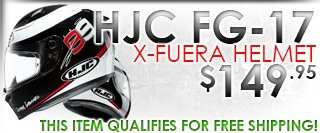 HJC FG-17 X-Fuera MC-1 helmet