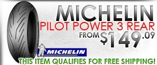 Michelin Pilot Power 3 Rear Tire