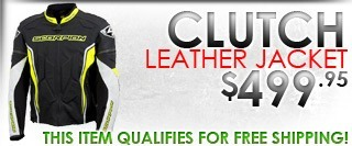 Scorpion Clutch Leather Jacket