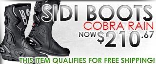 Sidi Cobra Rain Boots Black