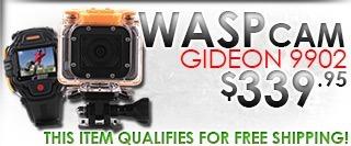 WASPcam Gideon 9902 Camera W/Remote