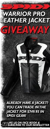 SPIDI Warrior Pro Leather Jacket Giveaway