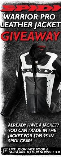 SPIDI Warrior Pro Leather Jacket Giveaway