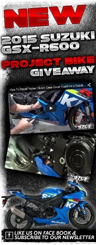2015 GSX-R600 Project Bike Giveaway