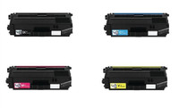 Remanufactured Brother TN-331 / TN-336 Toner Cartridges Pack of 4