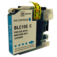 Compatible Brother LC10EC (LC-10EC) Super High Yield Cyan Ink Cartridge