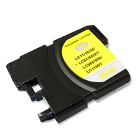 Compatible Brother LC-61Y (LC61Y) Yellow Ink Cartridge