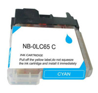 Compatible Brother LC-65C (LC65C) High Capacity Cyan Ink Cartridge