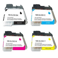 Compatible Brother LC65 Set of 4 High Yield Ink Cartridges: 1 each of Black, Cyan, Yellow, Magenta