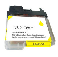 Compatible Brother LC-65Y (LC65Y) High Capacity Yellow Ink Cartridge