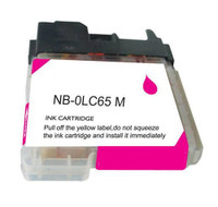 Compatible Brother LC-65M (LC65M) High Capacity Magenta Ink Cartridge
