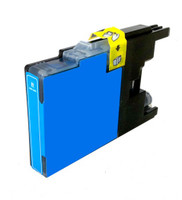 Compatible Brother LC75C High Yield Cyan Ink Cartridge