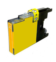 Compatible Brother LC-75Y High Yield Yellow Ink Cartridge - Replacement Ink for MFC-J6510DW, J6710DW, J6910DW