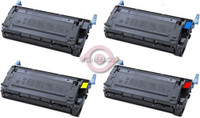 Remanufactured Canon EP85 Set of 4 Laser Toner Cartridges: 1 each of Black, Cyan, Yellow, Magenta