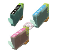Compatible Canon BCI-3EPB , BCI-3EPC, BCI-3EPM Inkjet Cartridges