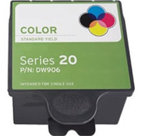 Compatible Dell DW906 (Series 20) Color Ink Cartridge