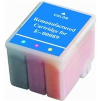 Remanufactured Epson S020089 (S191089) Color Ink Cartridge