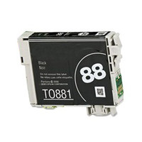 Remanufactured Epson T088120 (T0881) Black Ink Cartridge