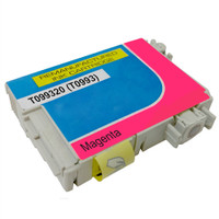 Remanufactured Epson 99 T099320 (T0993) Remanufactured Magenta Ink Cartridge