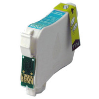 Remanufactured Epson T124220 (T124) Moderate Yield Cyan Ink Cartridge
