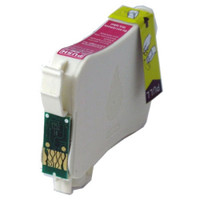 Remanufactured Epson T124320 (T124) Moderate Yield Magenta Ink Cartridge