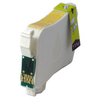 Remanufactured Epson T124420 (T124) Moderate Yield Yellow Ink Cartridge