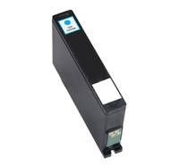 Remanufactured Dell 331-7381 (Series 32) High Yield Cyan Ink Cartridge - Replacement Ink for Dell All-in-one V525W, V725W